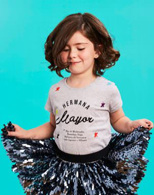 "Camiseta ""Hermana Mayor"" Buenahija"