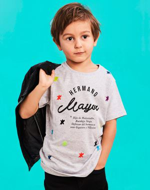 "Camiseta ""Hermano Mayor"" Buenhijo"