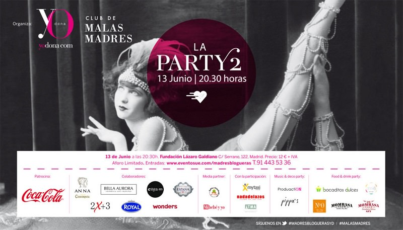 malasmadres party yodona